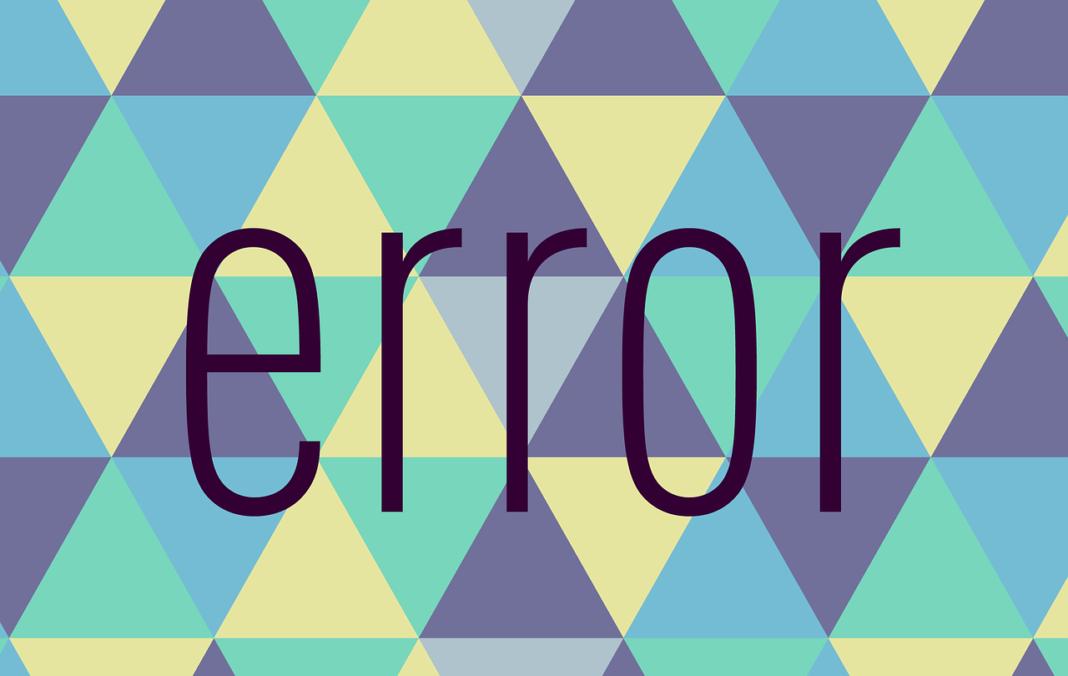 Un bug extrêmement grave vient d'apparaître dans la Blockchain Monero. pixabay - error-1790610_1280